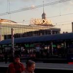 Station Moskou voor vertrek van Transmongolie!