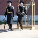 Russische soldaten met ere baan!