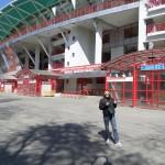Voetbalclubs Moskou Stadion
