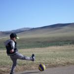 Voetbal in Mongolië!