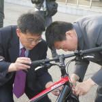 Noord-Koreaanse fietsenmakers!