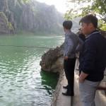 Vissen in Noord-korea!