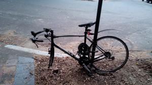 En dat was het einde van mijn Sydney fiets!